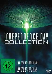 Independence Day 1 & 2, 2 DVDs
