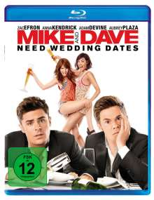 Mike and Dave Need Wedding Dates (Blu-ray), Blu-ray Disc