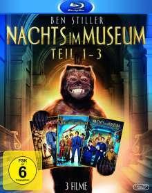 Nachts im Museum 1-3 (Blu-ray), 3 Blu-ray Discs