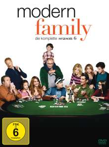Modern Family Season 6, 3 DVDs