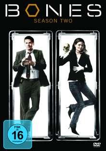 Bones - Die Knochenjägerin Season 2, 6 DVDs