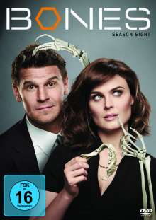 Bones - Die Knochenjägerin Season 8, 6 DVDs