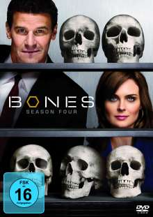 Bones - Die Knochenjägerin Staffel 4, 7 DVDs