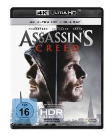 Assassin's Creed (Ultra HD Blu-ray & Blu-ray), 2 Ultra HD Blu-rays