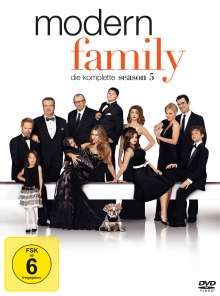 Modern Family Season 5, 3 DVDs