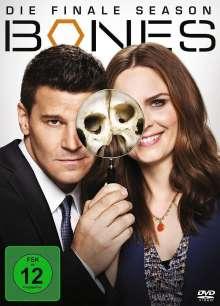Bones - Die Knochenjägerin Season 12 (finale Staffel), 3 DVDs