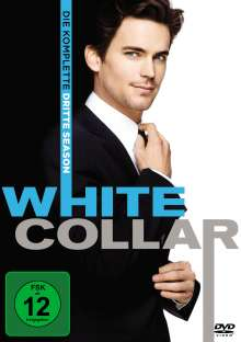 White Collar Season 3, 4 DVDs