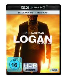Logan - The Wolverine (Ultra HD Blu-ray & Blu-ray), 2 Ultra HD Blu-rays