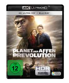 Planet der Affen: Prevolution (Ultra HD Blu-ray & Blu-ray), 2 Ultra HD Blu-rays