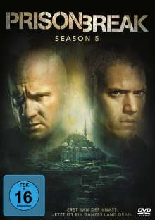 Prison Break Season 5, 3 DVDs