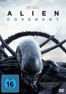 Alien: Covenant, DVD