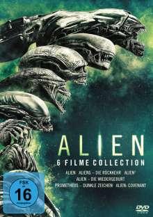 Alien 1-6, 6 DVDs