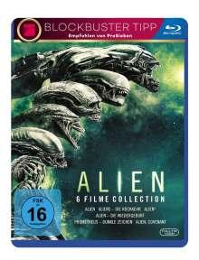 Alien 1-6 (Blu-ray), 6 Blu-ray Discs