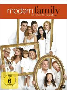 Modern Family Season 8, 3 DVDs
