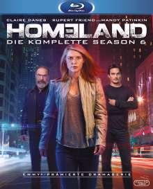 Homeland Staffel 6 (Blu-ray), 3 Blu-ray Discs