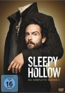 Sleepy Hollow Staffel 4 (finale Staffel), 4 DVDs