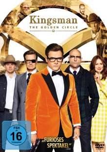 Kingsman 2 - The Golden Circle, DVD