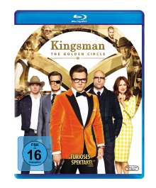 Kingsman 2 - The Golden Circle (Blu-ray), Blu-ray Disc