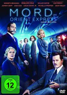 Mord im Orient Express (2017), DVD