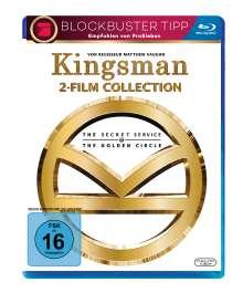 Kingsman 1 & 2 (Blu-ray), 2 Blu-ray Discs
