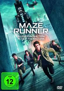 Maze Runner 3 - Die Auserwählten in der Todeszone, DVD