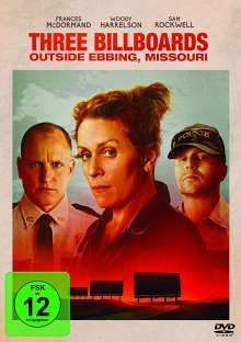 Three Billboards Outside Ebbing, Missouri, DVD