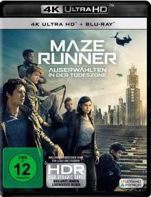 Maze Runner 3 - Die Auserwählten in der Todeszone (Ultra HD Blu-ray & Blu-ray), 2 Ultra HD Blu-rays