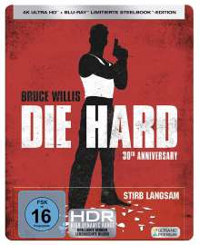 Stirb langsam (Ultra HD Blu-ray & Blu-ray im Steelbook), 1 Ultra HD Blu-ray und 1 Blu-ray Disc