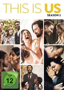 This is us Staffel 2, 5 DVDs