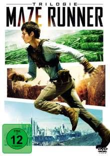 Maze Runner 1-3 - Die Trilogie, 3 DVDs