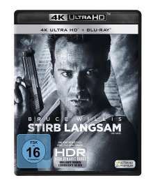 Stirb langsam (Ultra HD Blu-ray & Blu-ray), 1 Ultra HD Blu-ray und 1 Blu-ray Disc