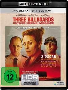 Three Billboards Outside Ebbing, Missouri (Ultra HD Blu-ray & Blu-ray), Ultra HD Blu-ray