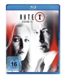 Akte X Staffel 11 (Blu-ray), 3 Blu-ray Discs