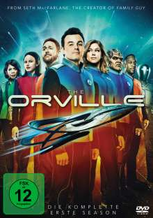 The Orville Season 1, 5 DVDs
