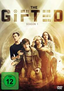 The Gifted Season 1, 4 DVDs
