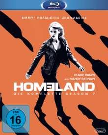 Homeland Staffel 7 (Blu-ray), 3 Blu-ray Discs