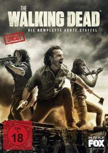 The Walking Dead Staffel 8 (Uncut), 6 DVDs