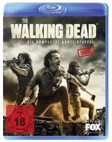 The Walking Dead Staffel 8 (Uncut) (Blu-ray), 6 Blu-ray Discs