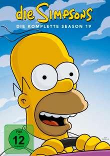 Die Simpsons Season 19, 4 DVDs
