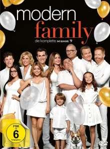 Modern Family Season 9, 3 DVDs