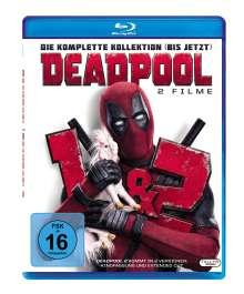 Deadpool 1 & 2 (Blu-ray), 3 Blu-ray Discs