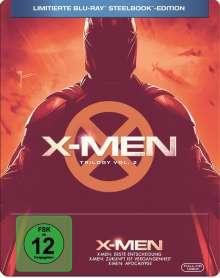 X-Men Trilogie Vol. 2 (Teil 4-6) (Blu-ray im Steelbook), 3 Blu-ray Discs