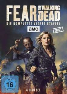Fear the Walking Dead Staffel 4, 4 DVDs