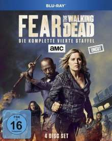 Fear the Walking Dead Staffel 4 (Blu-ray), 4 Blu-ray Discs