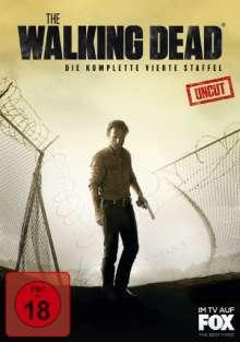 The Walking Dead Staffel 4, 5 DVDs