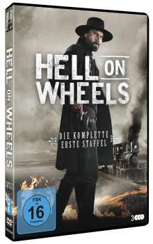 Hell on Wheels Season 1, 3 DVDs