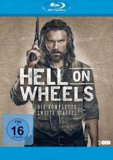 Hell on Wheels Season 2 (Blu-ray), 3 Blu-ray Discs