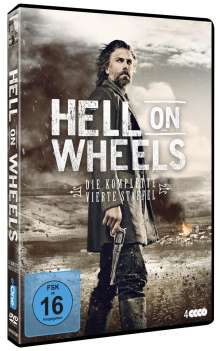 Hell on Wheels Season 4, 3 DVDs