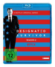 Designated Survivor Staffel 2 (Blu-ray), 6 Blu-ray Discs