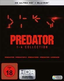 Predator 1-4 Collection (Ultra HD Blu-ray & Blu-ray), 8 Ultra HD Blu-rays